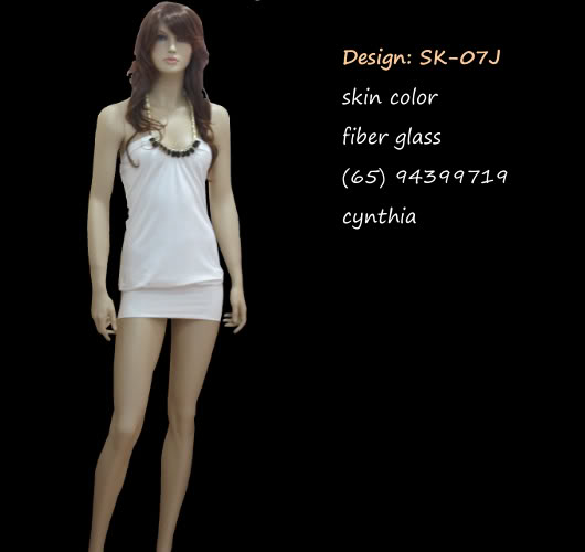 Mannequin Female Skin Color 07j