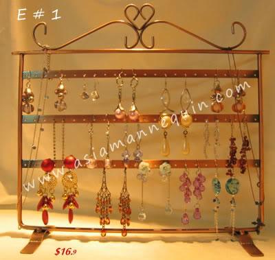 earing display jewellery display stand