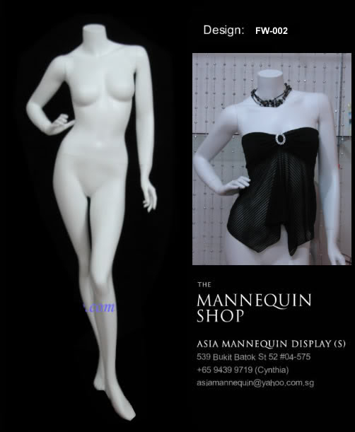 Mannequin Female white Color