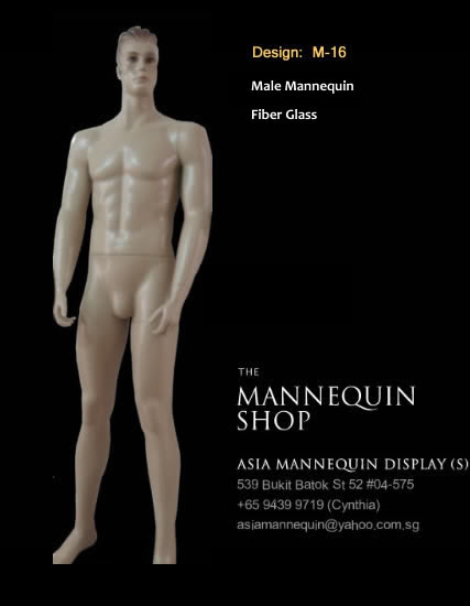 Mannequin Male Skin Color M-16