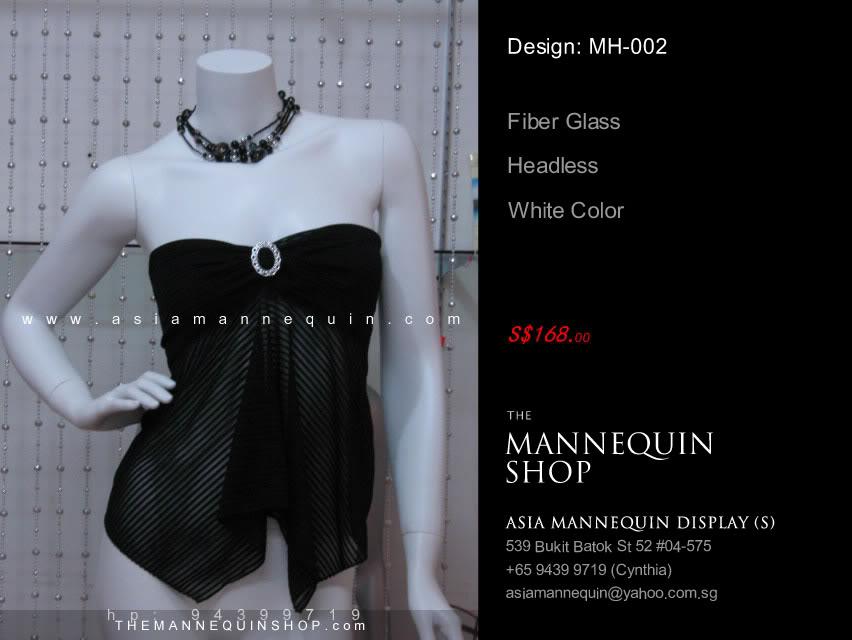 Mannequin Female White Color Headless FW-002