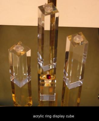 acrylic ring display jewellery display stand