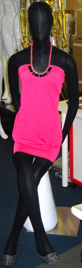Mannequin female black Color flxiblack