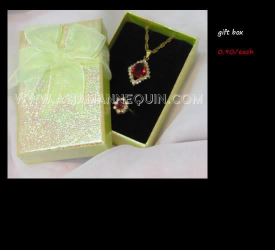 jewellery display gift box