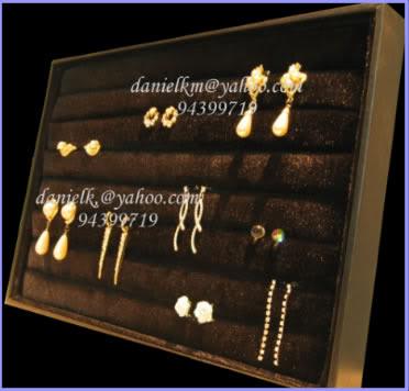 velvet ring display tray