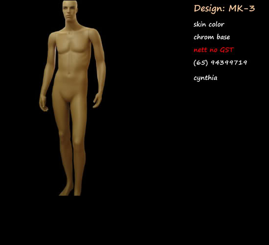 Mannequin Male Skin Color mk3