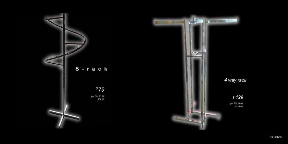 S-rack $79  each