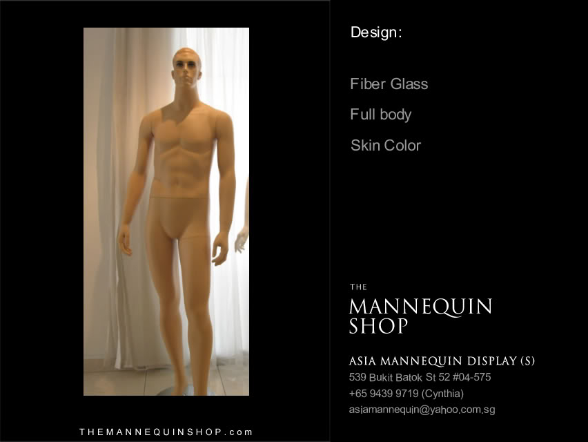 Mannequin Male Skin Color #2