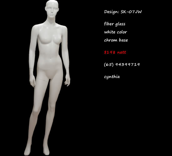 Mannequin female white Color sk-07JW