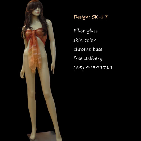 Mannequin Female Skin Color sk-17
