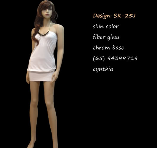 Mannequin Female Skin Color sk-25J
