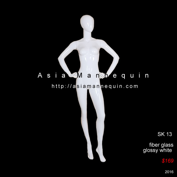 Glossy mannequin