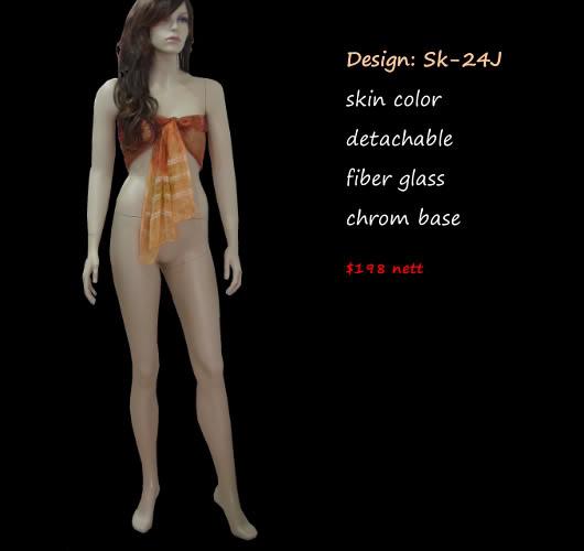 Mannequin Female Skin Colorsk-24J